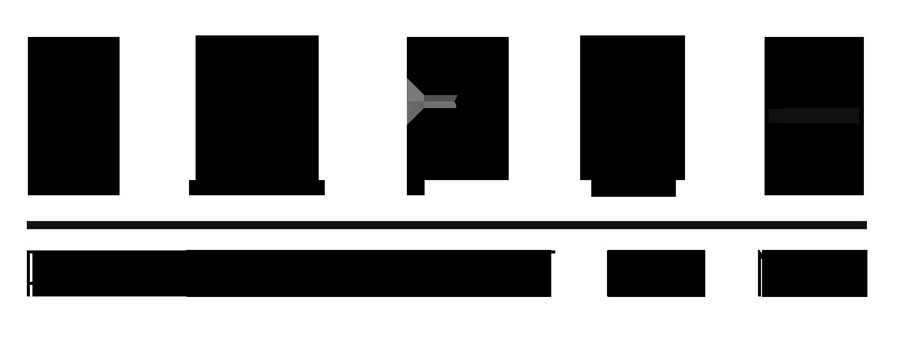 Lapse logo - Black - clear Background